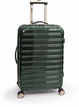 Hardside Spinner Suitcase Rolling Luggage 24-Inch Travel Gre