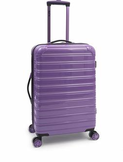 Hardside Spinner Suitcase Rolling Luggage 24-Inch Travel Pur