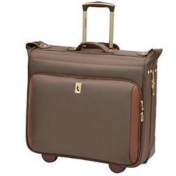 London Fog Kensington Ultra-Lightweight Collection 44inch Wheeled Garment Bag Bronze Leisure Merchandising 7844 BRZ