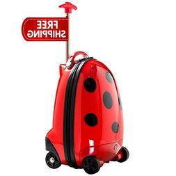 kid carryon luggage battery powered rcremote control