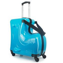 Kids Luggage boys girls Ride Carry-On Travel Bag Box set sui