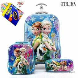 Kids Suitcase for Travel Luggage Suitcase for Girls Children
