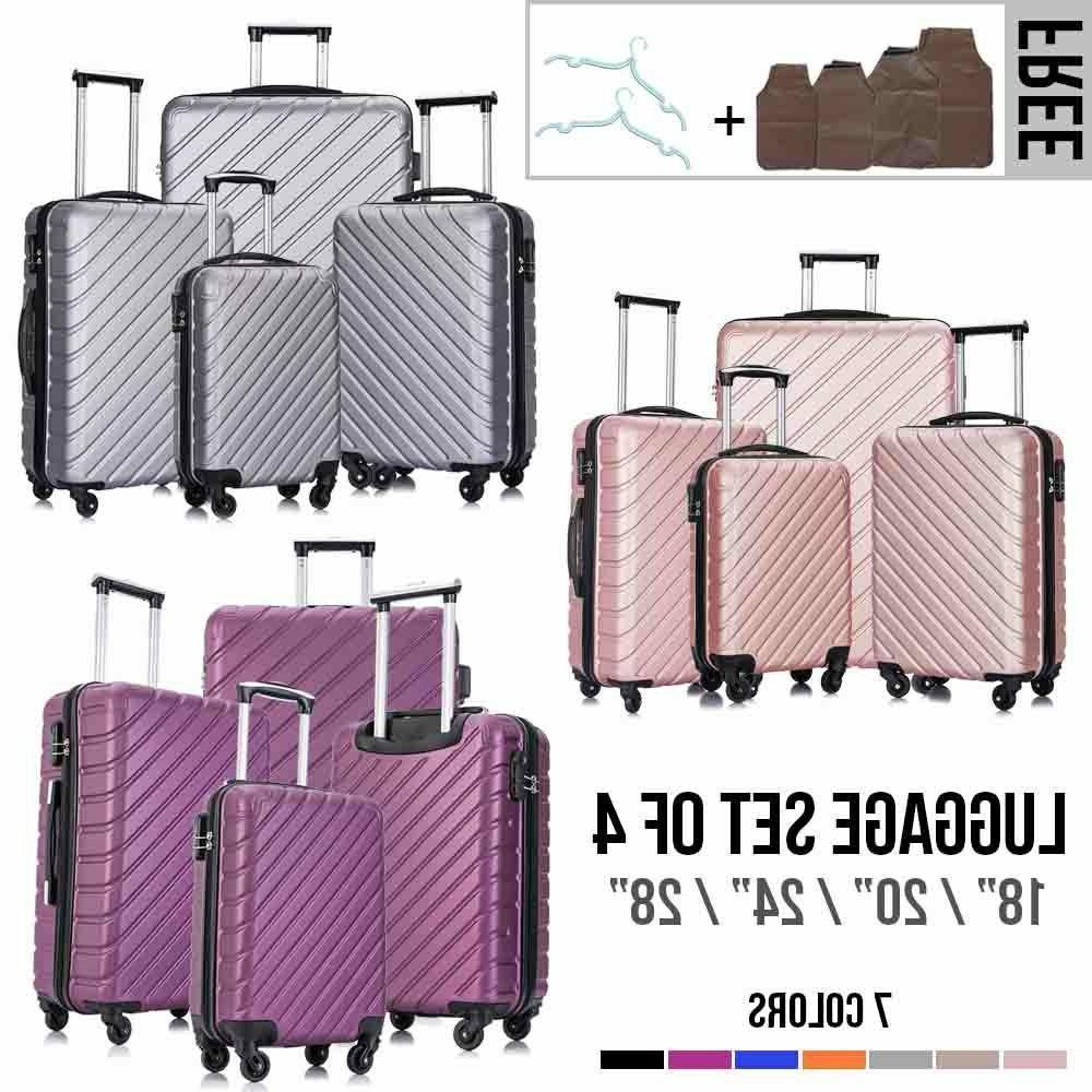 "18""20""24""28"" ABS Hardshell Suitcase w/Lock"