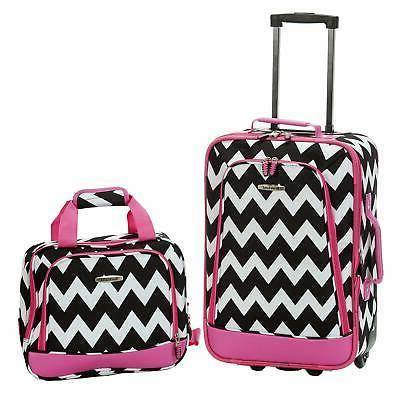 2 Pcs Luggage Set Expandable Luggage Set With Wheels For Gir