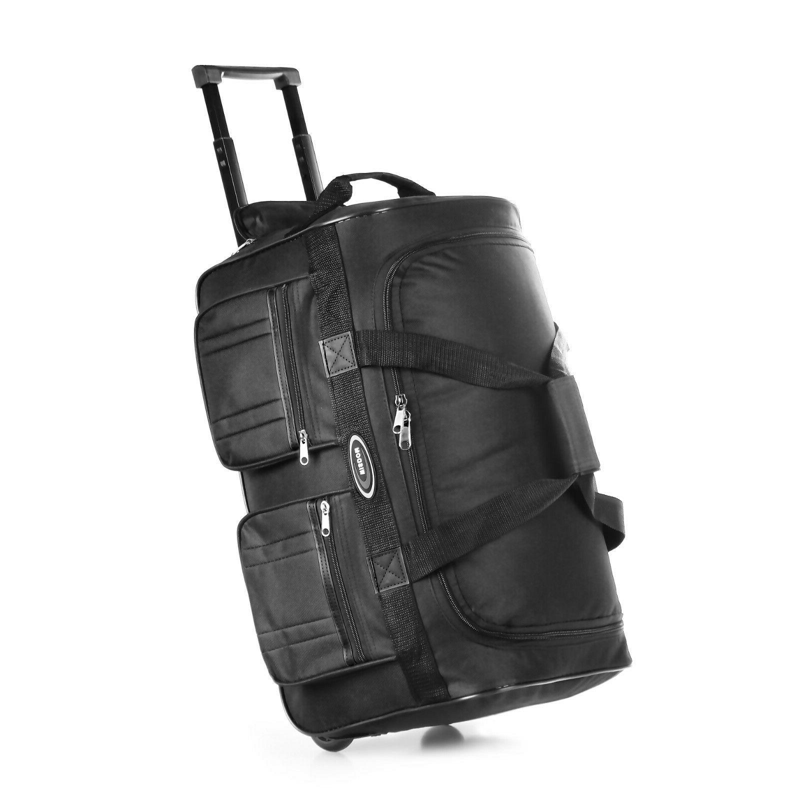 20 rolling wheeled duffle bag tote carry