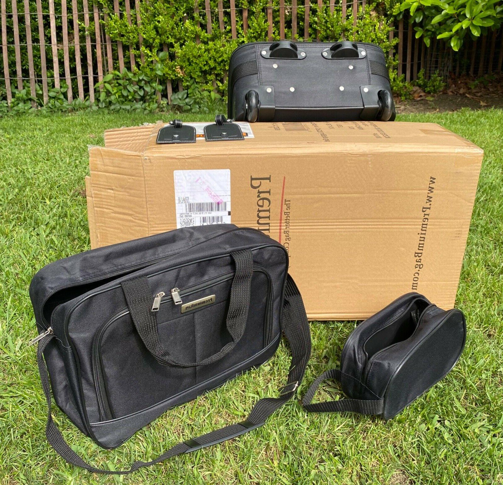 PremiumBag Carry-On set w/matching tote dop kit
