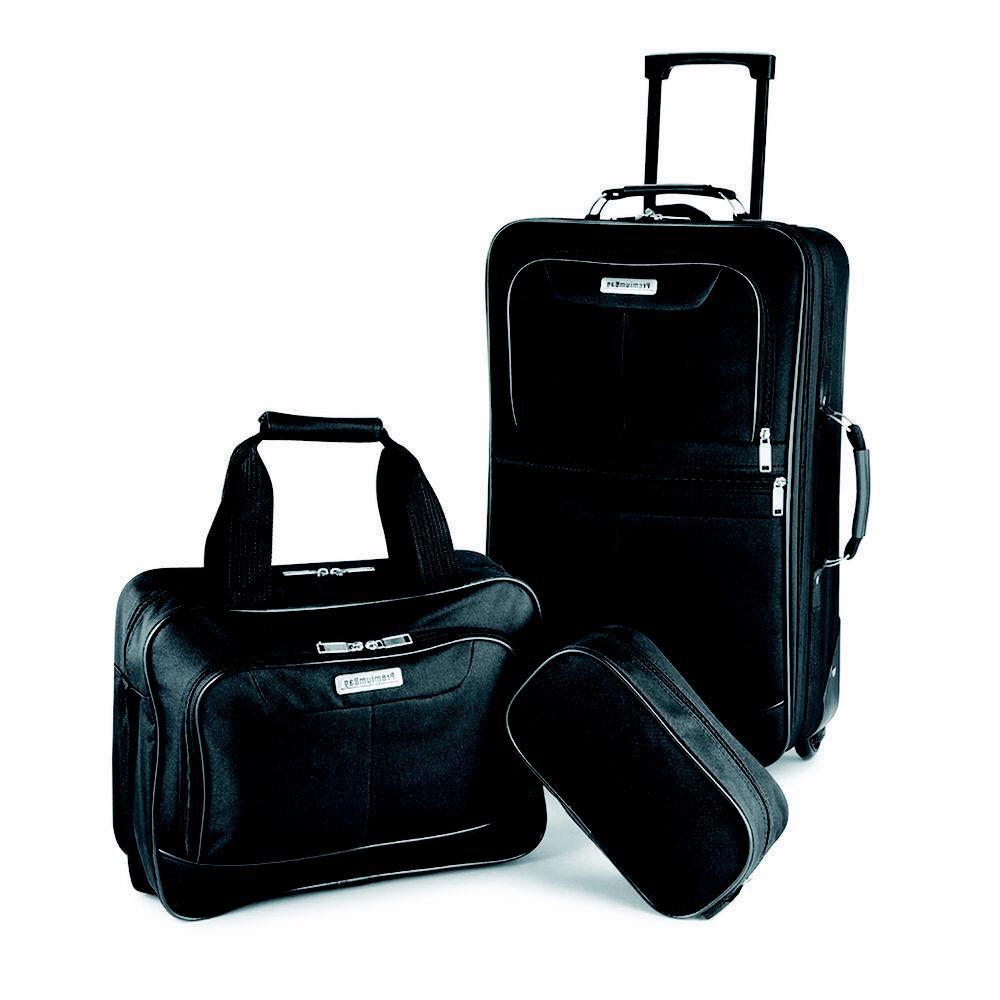 PremiumBag set w/matching dop kit black