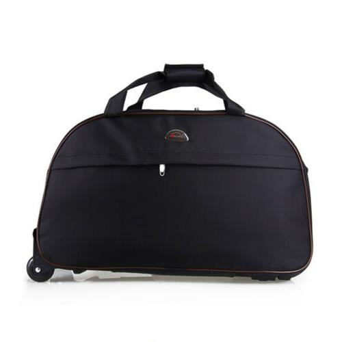 """24"""" Bag Rolling Tote Carry On w/ Drawbar"""
