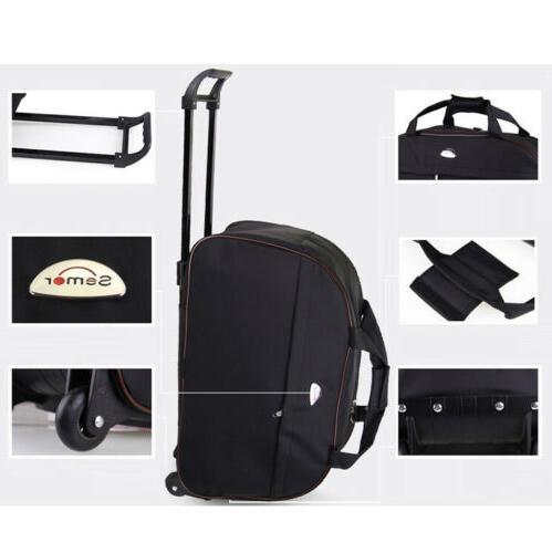 """24"""" Wheeled Rolling On Suitcase Luggage"""