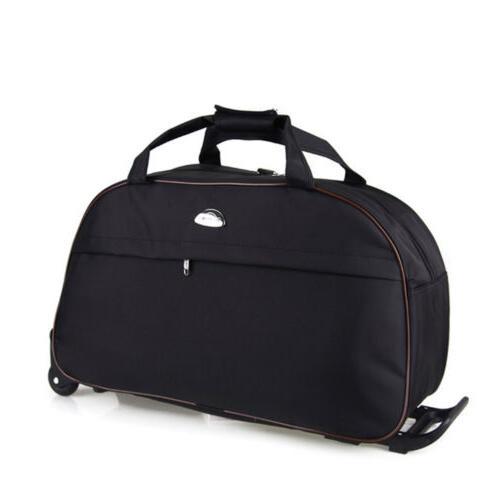 "24"" Rolling Travel Carry On Drawbar Luggage"