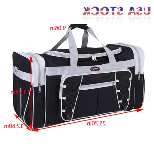 """26"""" Duffle Bag Carry-on Overnight GYM Tote Luggage Suitcase"""