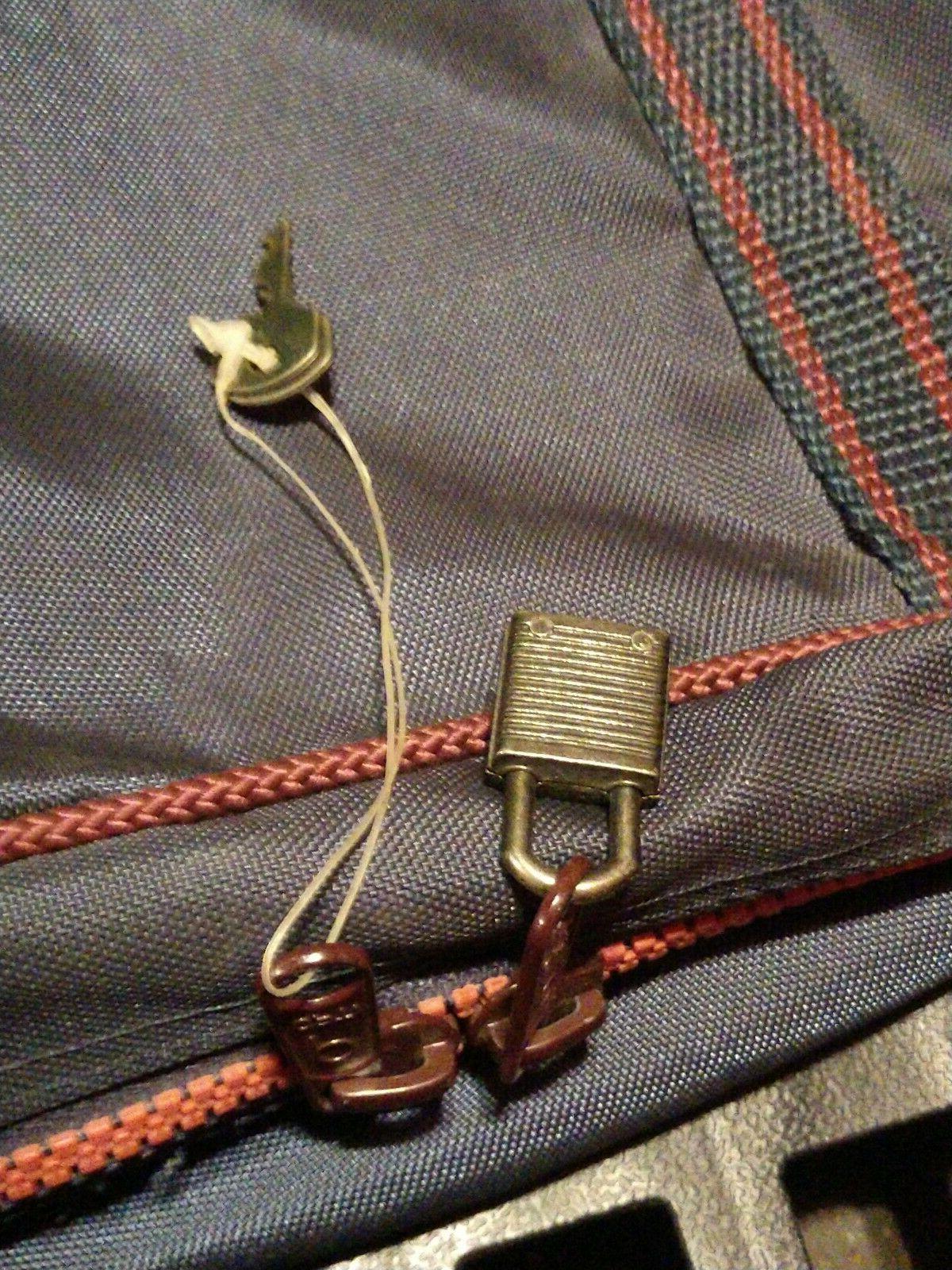 Gloria Vanderbilt Lightweight Luggage Lock & Keys
