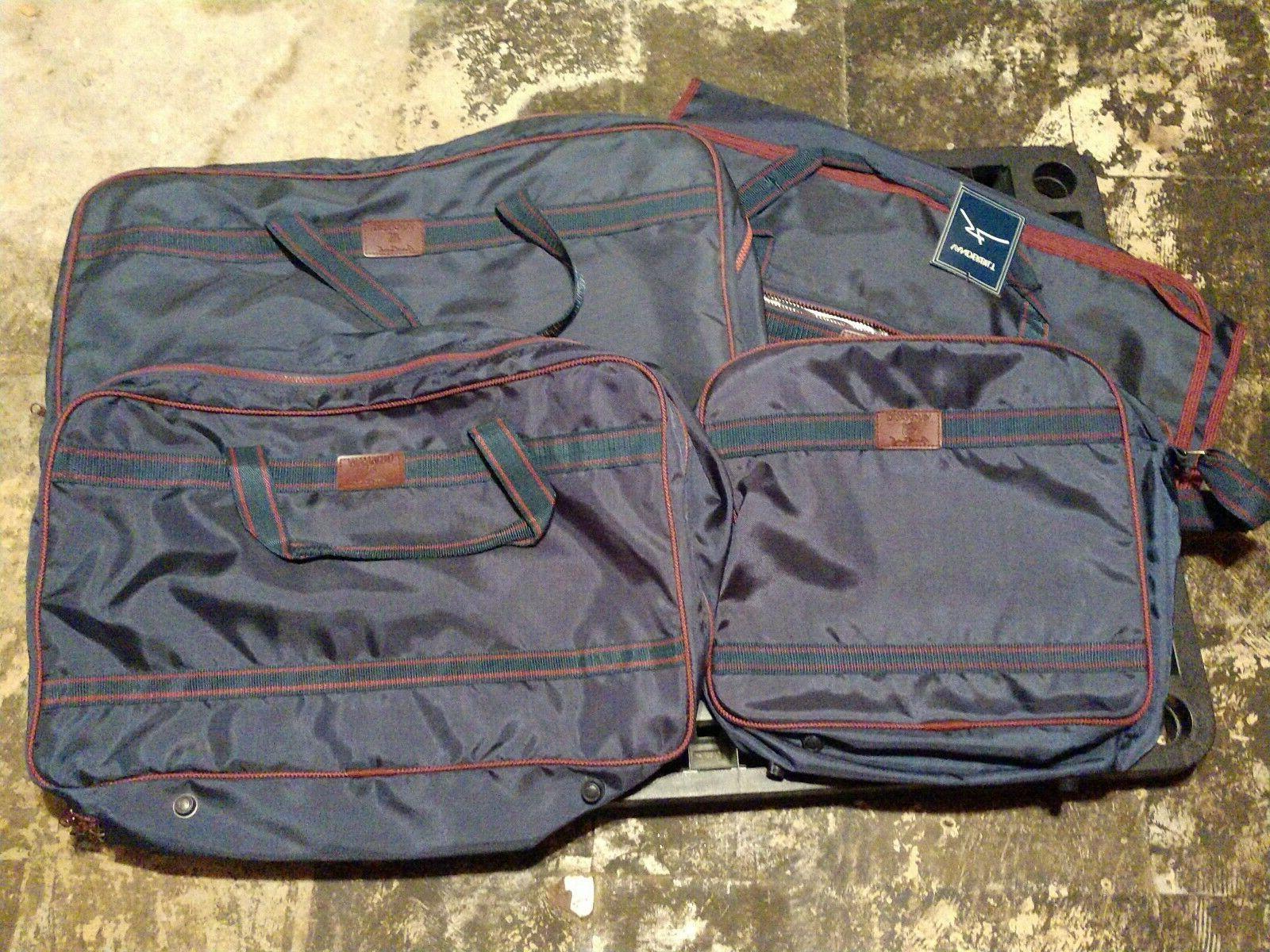 4 piece lightweight luggage set nos lock