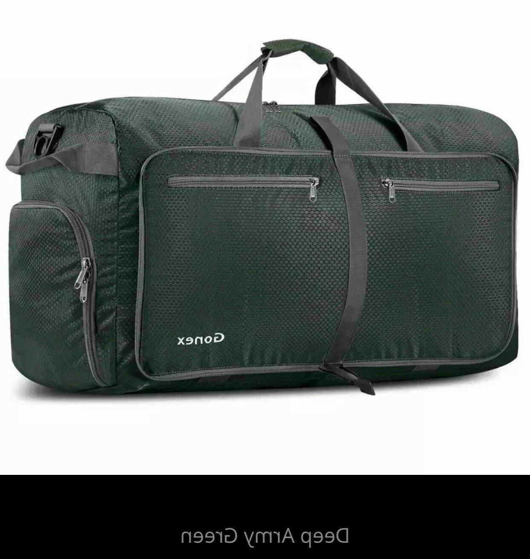 Gonex 40L Packable Travel Duffel Water