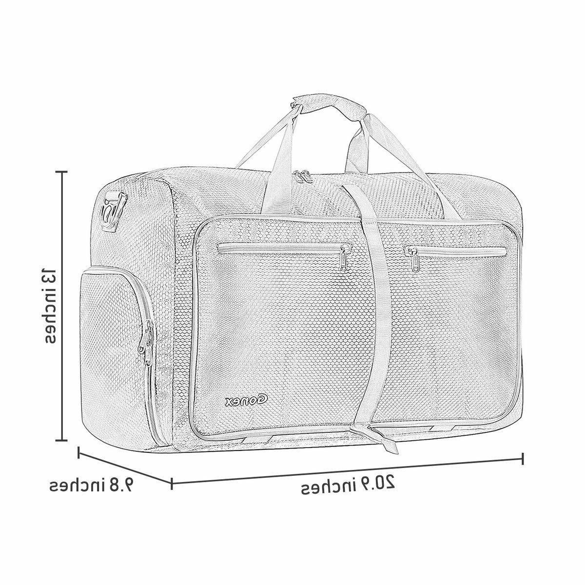 Gonex 40L Duffel Bag, Lightweight Water Repellent &