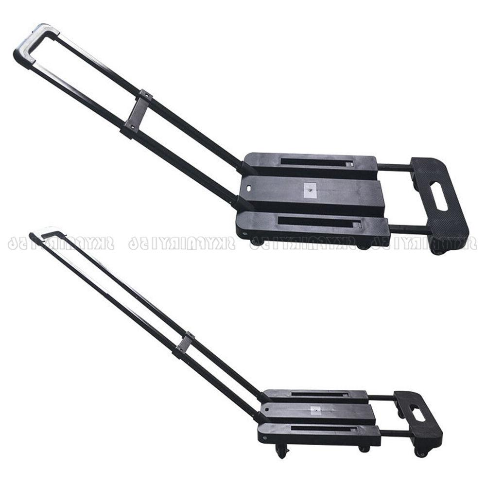 440 lbs 200kg Cart Hand Collapsible Luggage Dolly