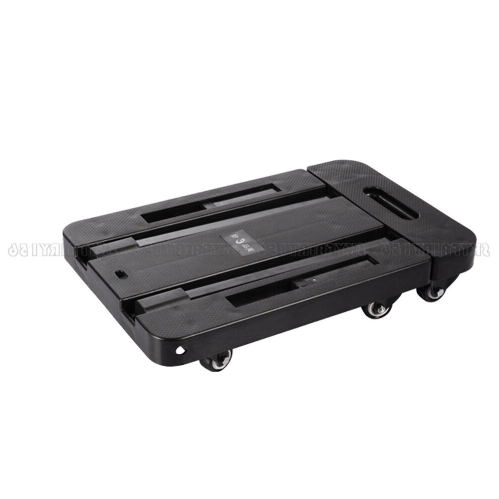 440 lbs 200kg Folding Cart Luggage Dolly Rolling
