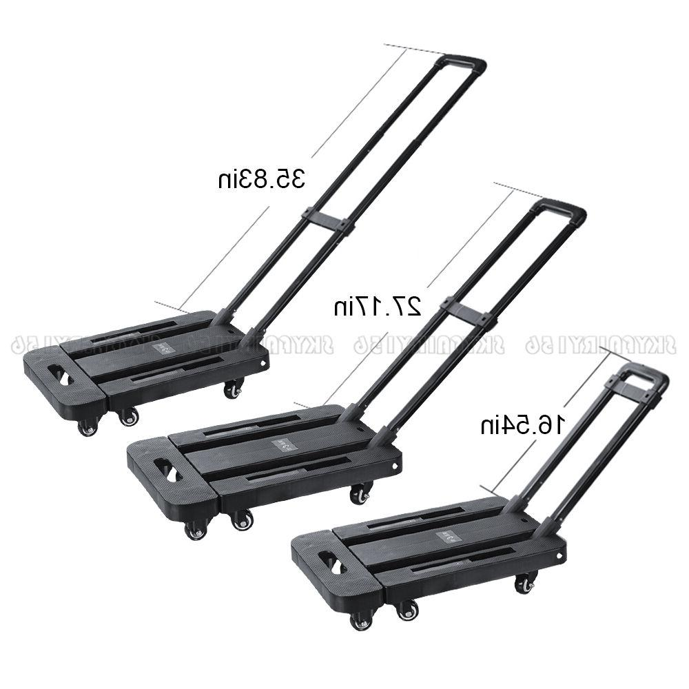 440 200kg Cart Luggage Dolly Rolling