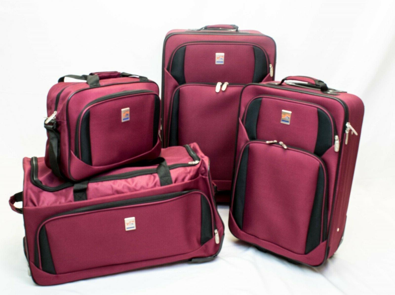 4pcs luggage set