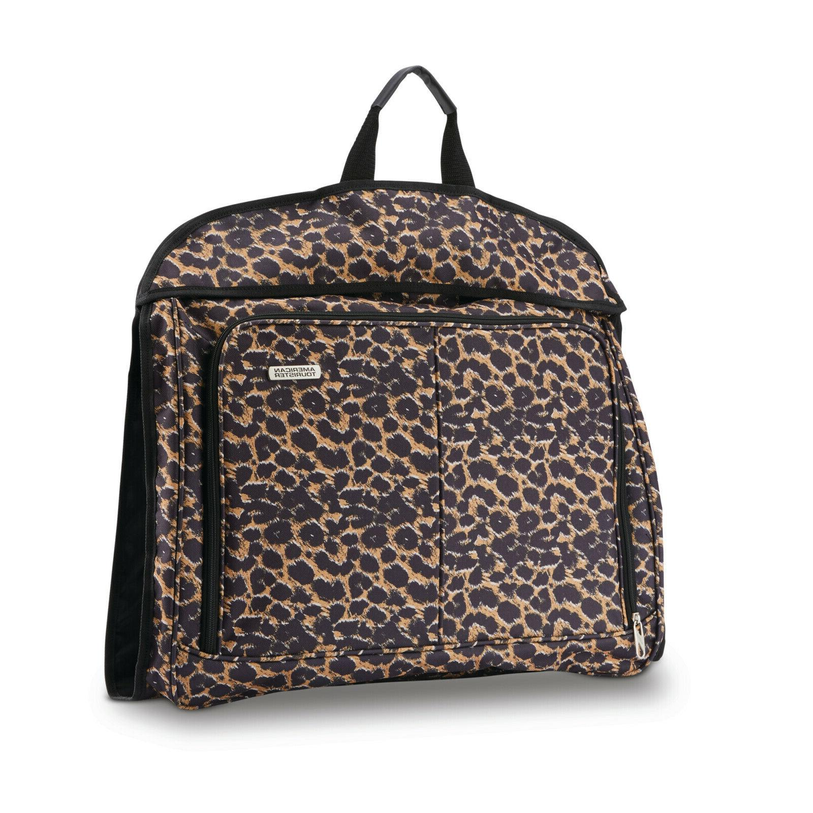American Spinner Luggage Leopard Womens