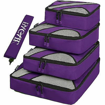 5 set travel packing cube luggage organizers