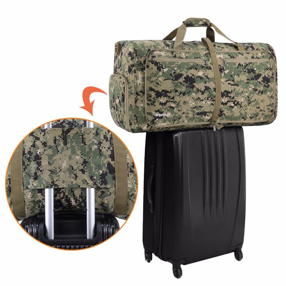 Gonex Bag Cordura Handbag <font><b>Suitcase</b></font> Bags Army Men Women Outdoor Camping