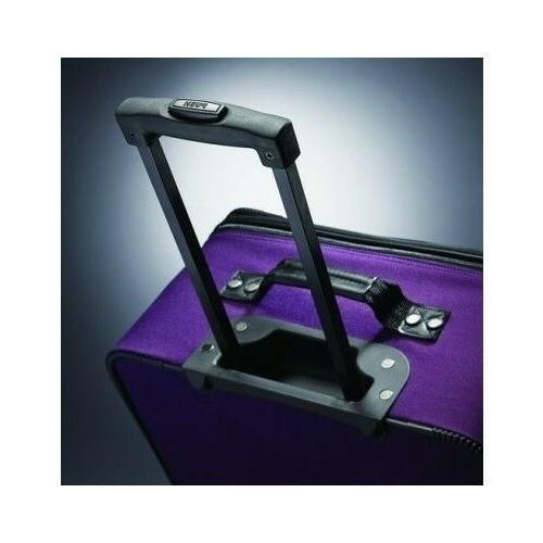 Luggage For With Wheels Purple Suitcase Bag Duffel