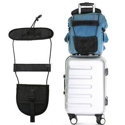 Add A Bag Strap Luggage Suitcase Portable Adjustable Belt Ca