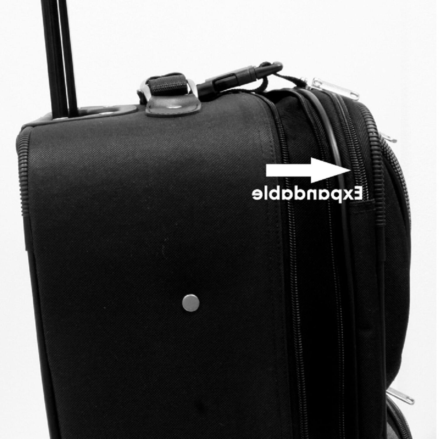 Traveler's Carry-on Suitcase