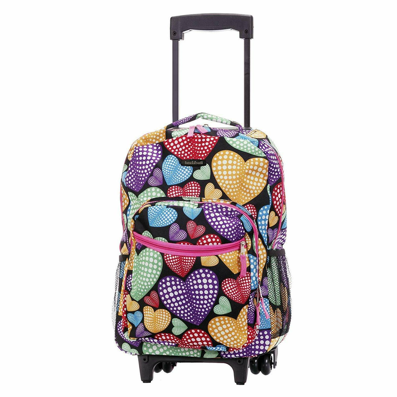 """Luggage Rolling Double Pocket 17"""""""