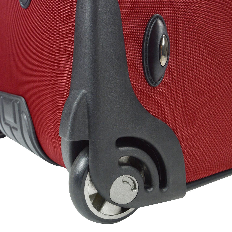 """Birmingham 21"""" Ballistic Expandable Rolling Suitcase"""
