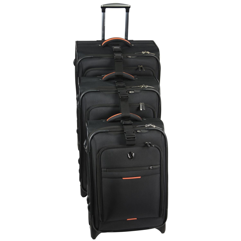 Birmingham Ballistic Expandable Luggage Suitcase