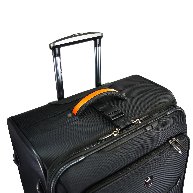 Birmingham Carry-on Ballistic Rolling Suitcase