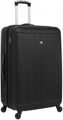 SwissGear Black 28- inch Lightweight Hardside Spinner Suitca