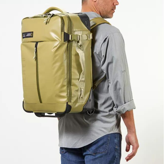 borderless convertible carry on capacity 40 l