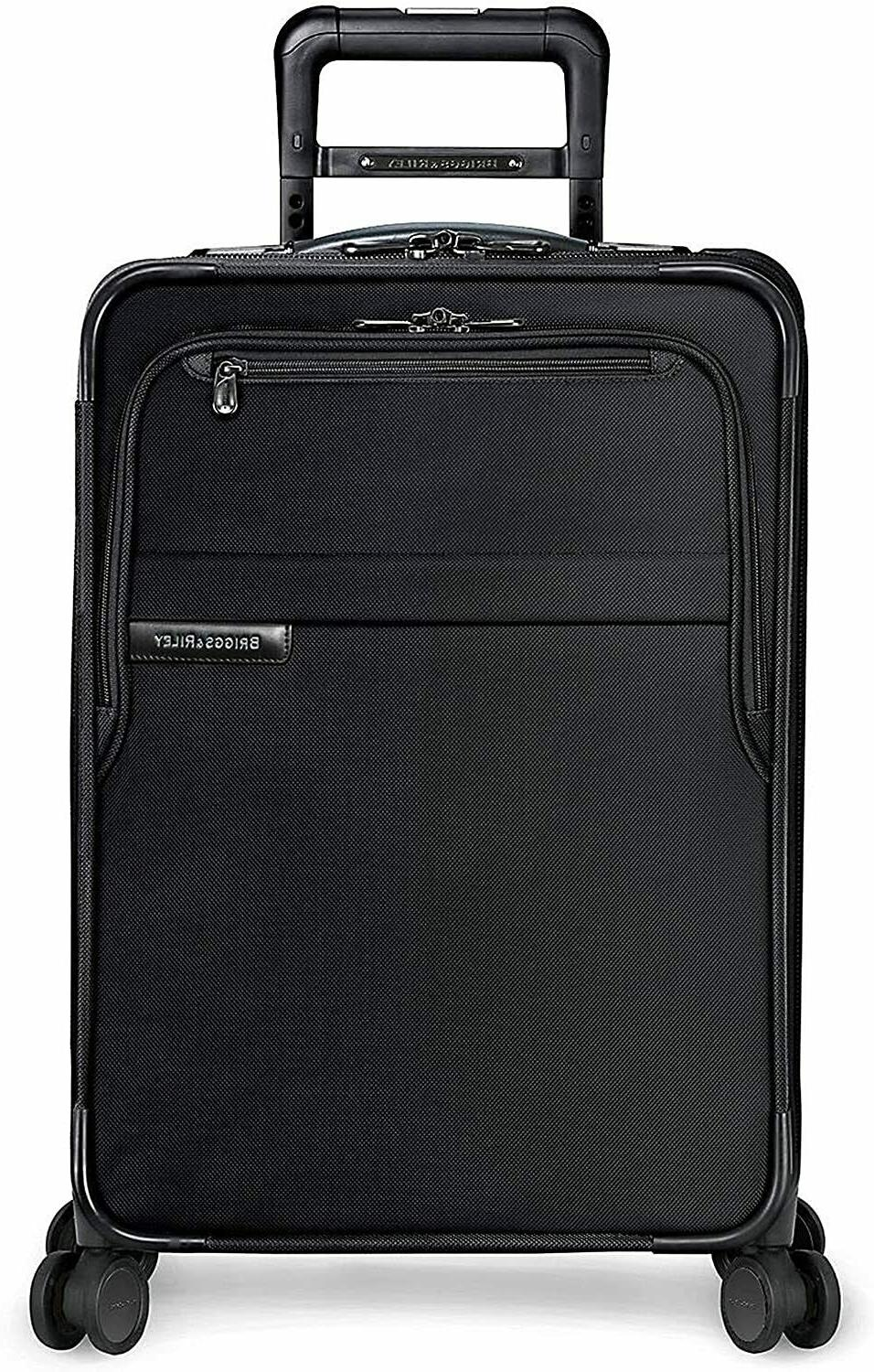 Briggs Riley Baseline Carry-On Expandable 22 4 wheel Spinner