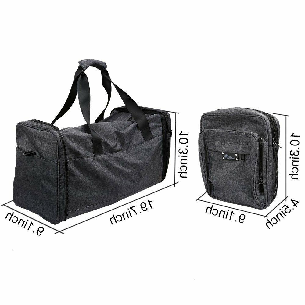 Business Travel Bag Luggage Foldable Scalable Travel