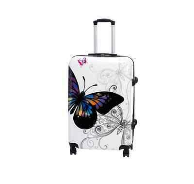 Butterfly 4-Piece Hardside Lock Spinner