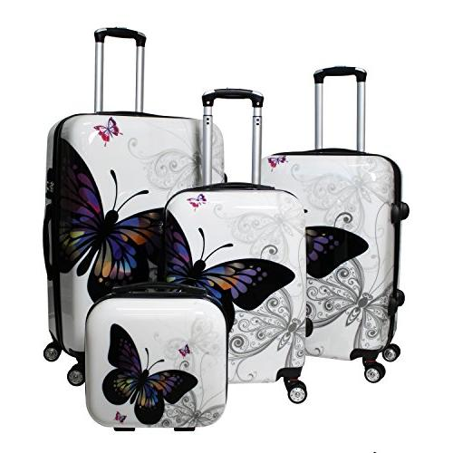 butterfly hardside tsa lock spinner