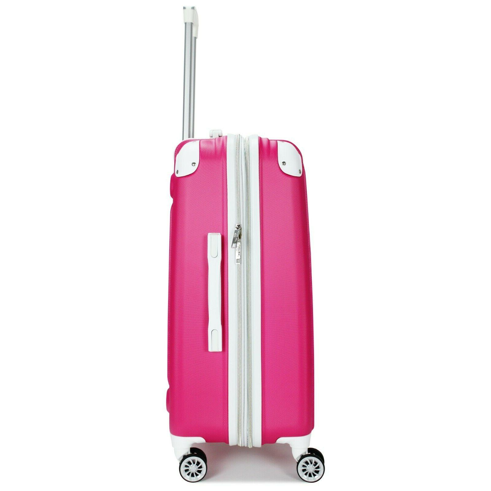 Miami CarryOn Collins Expandable Spinner Luggage