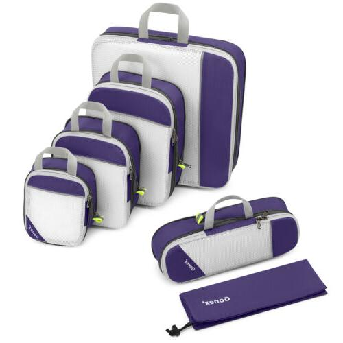 compression packing travel storage bags extensible cube