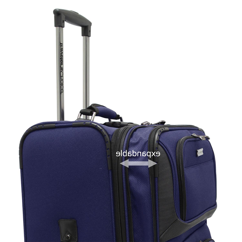 """Traveler's 22"""" Luggage Suitcase"""