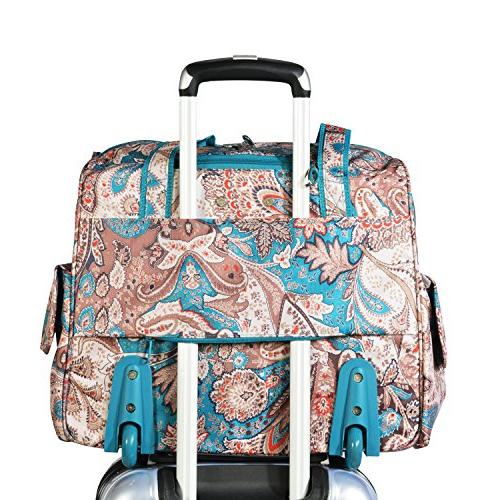 Olympia Deluxe Overnighter, Paisley,