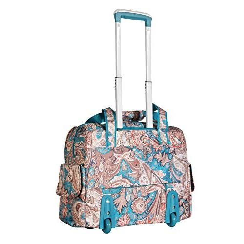 Olympia Deluxe Fashion Overnighter, Paisley,