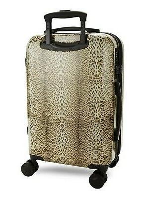 Designer Cavalli Logo Leopard Carry-On