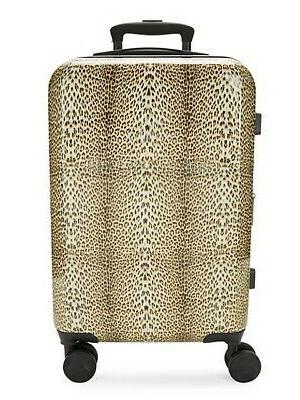 designer classic logo leopard cheetah tsa carry