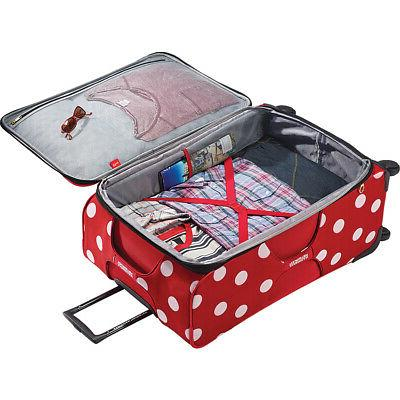 American Tourister Minnie Mouse Softside Luggage NEW