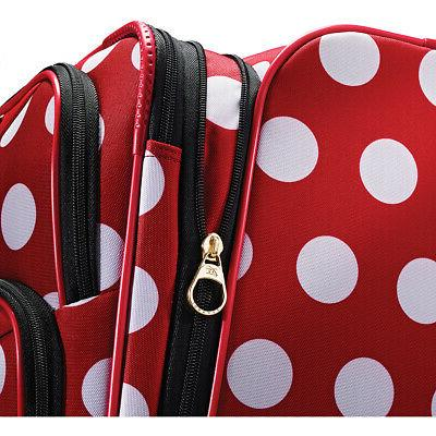 American Tourister Disney Minnie Mouse Spinner Luggage NEW