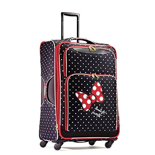 disney minnie red bow luggage