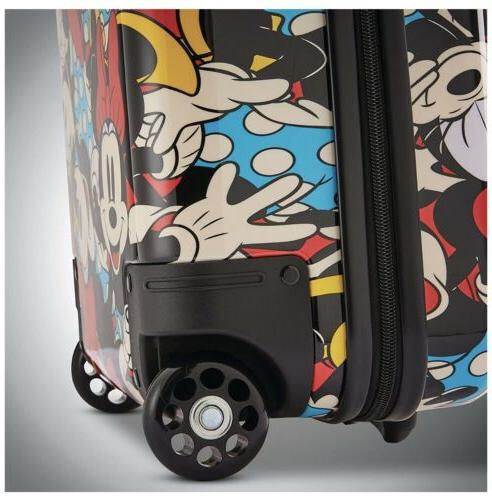 American Tourister Roll Aboard Luggage - Piece Set .Mickey mouse Design